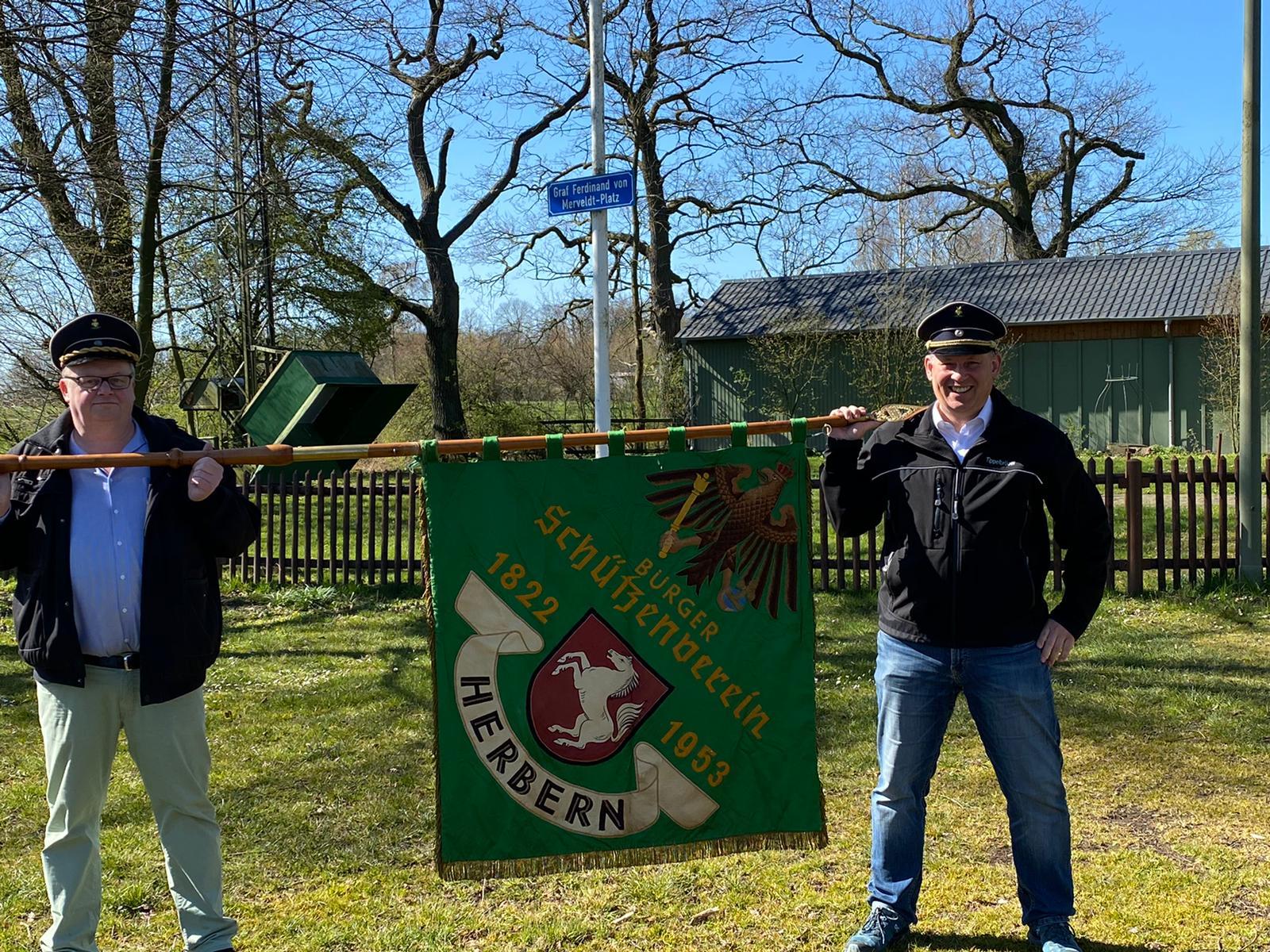 Grüne Fahne wieder aufgetaucht